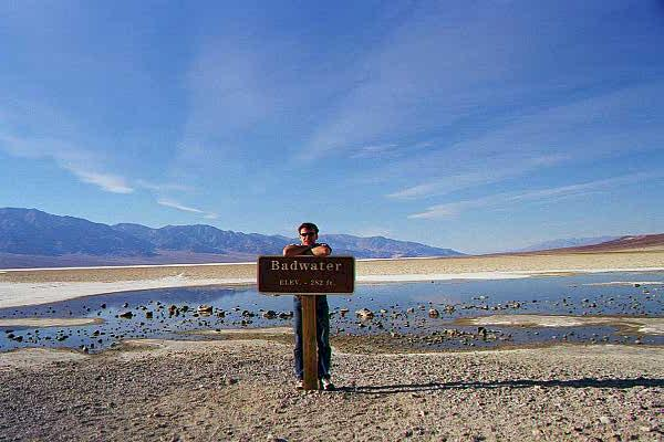 mike in death valley
